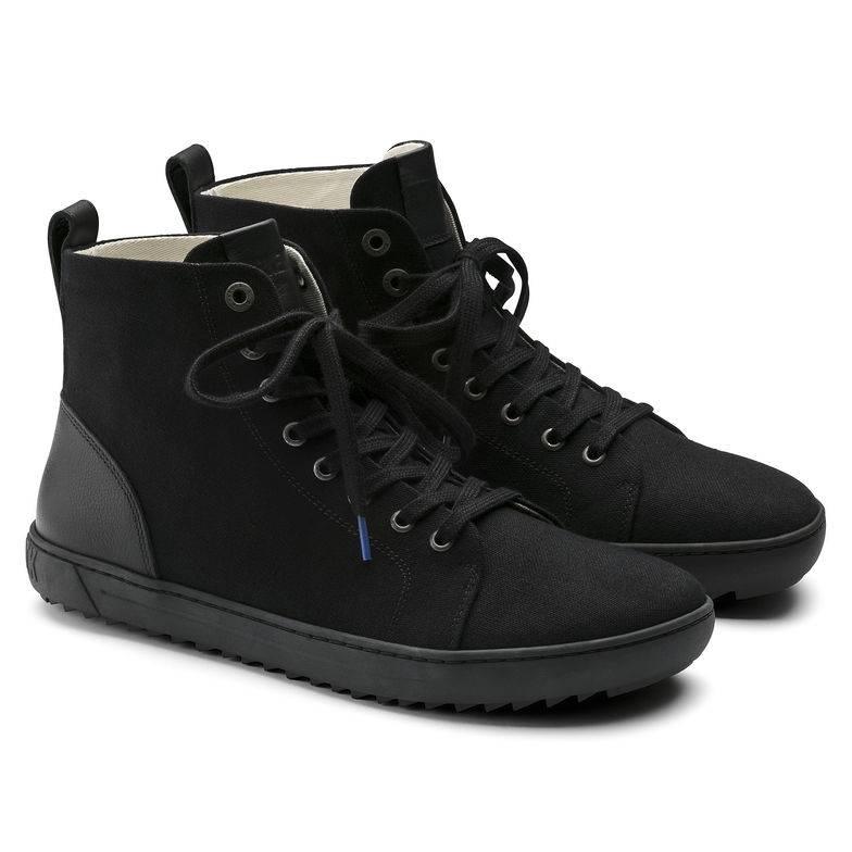 BIRKENSTOCK Bartlett Halbhohe Stiefel schwarz Schwarz Textil Leder normal