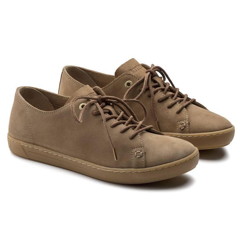 BIRKENSTOCK Arran Sneaker sand Sand Velourleder Leder normal