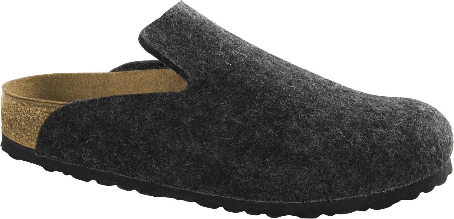 Birkenstock Davos anthrazit Anthracite Schuhe Clogs Unisex Weite normal