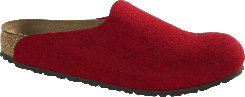 Birkenstock Amsterdam rot Melange Red Schuhe Clogs Unisex Weite normal