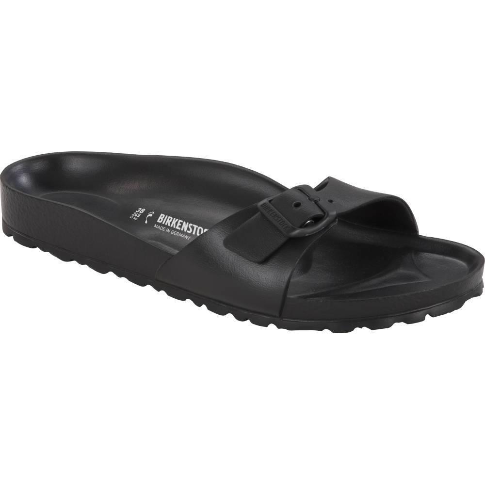 BIRKENSTOCK Madrid EVA 1-Riemen-Sandale schwarz Black EVA schmal