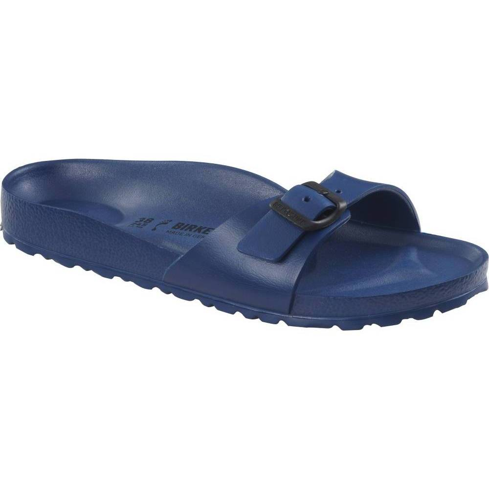 BIRKENSTOCK Madrid EVA 1-Riemen-Sandale blau Navy EVA schmal