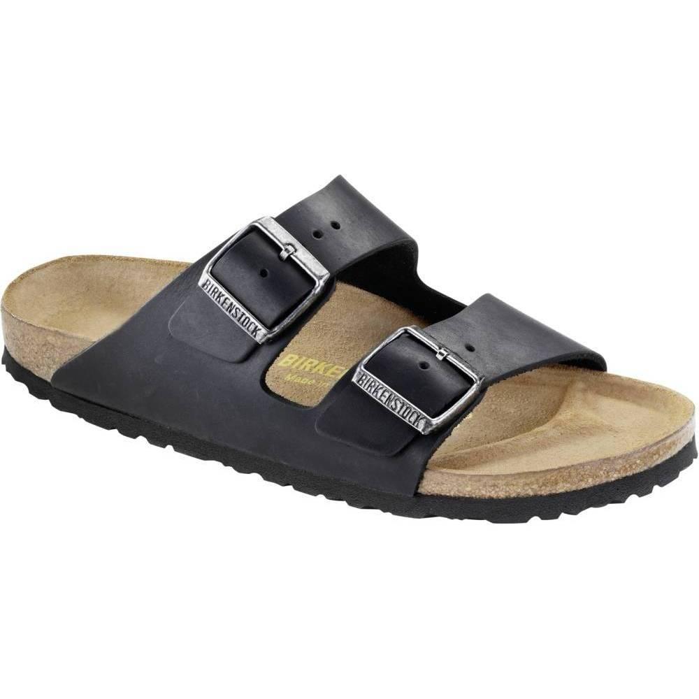 BIRKENSTOCK Arizona 2-Riemen-Sandale schwarz Black Geöltes Leder Leder normal