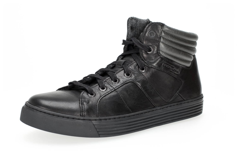 Camel Active Bowl 35 schwarz grau black grey Schuhe Hi-Cut Sneaker Herren