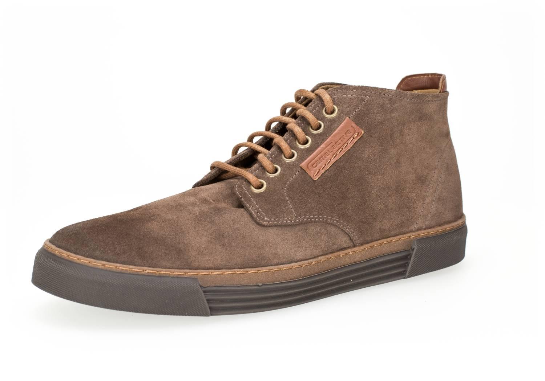 Camel Active Racket 20 hellbraun taupe mocca Schuhe Hi-Cut Sneaker Herren