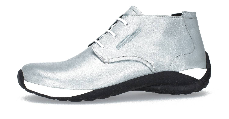 Camel Active Moonlight 73 grau glacier Velvet Cow Schuhe Hi-Cut Sneaker Damen