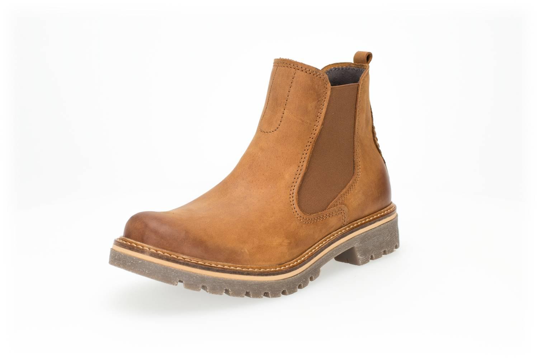 Camel Active Canberra 72 hellbraun brandy Schuhe Stiefelette Boots Damen