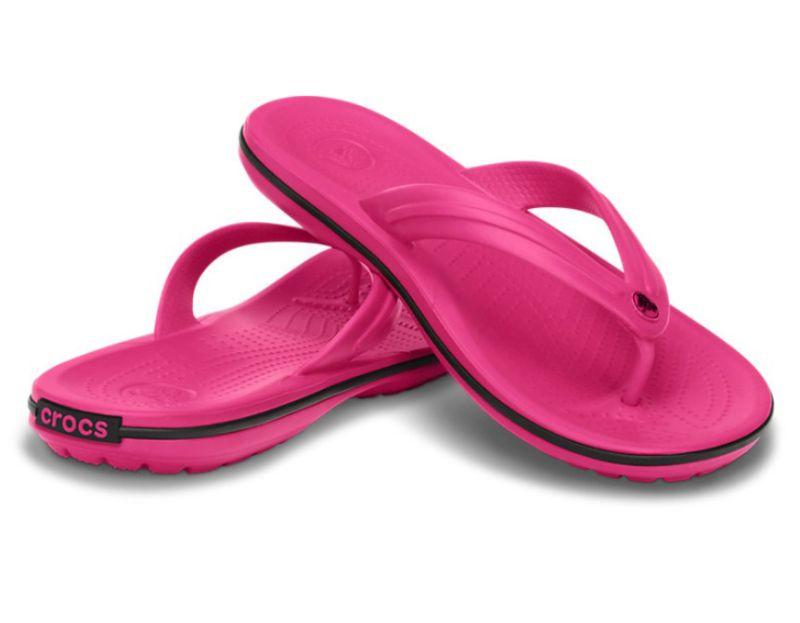 Crocs Crocband Flip Pink Clogs Schuhe Schlappe Latschen CBF9