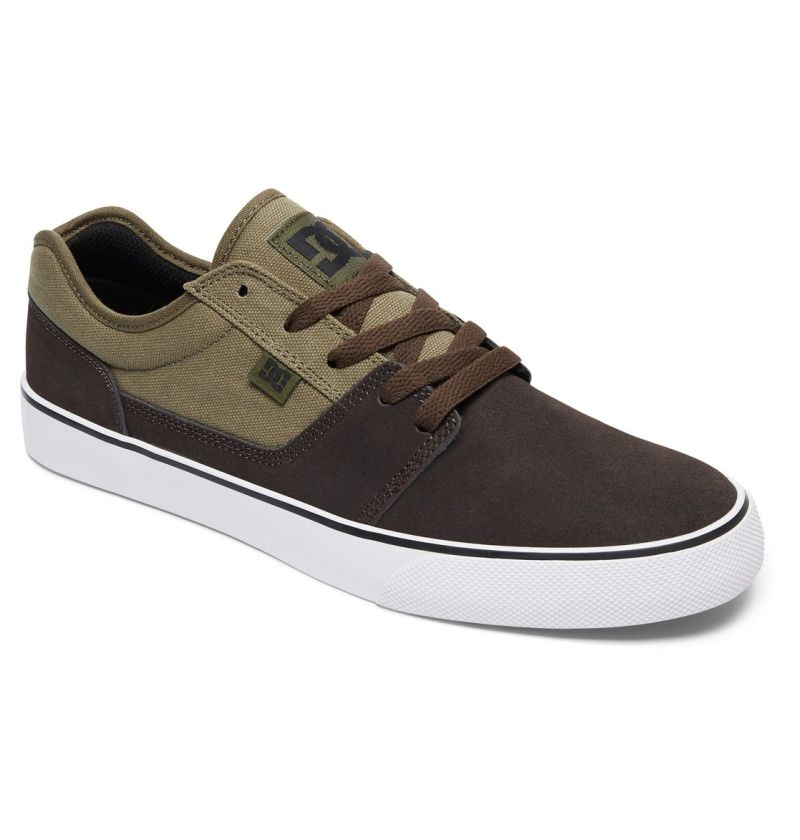 DC Shoes Tonik Low-Cut Canvas Sneaker Freizeitschuhe Skateschuhe Wildleder Canvas Low-Cut 247531