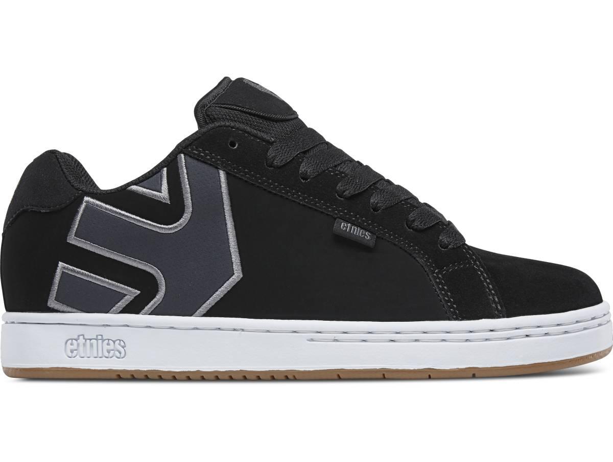 Etnies Fader schwarz navyblau grau black navy grey Low Sneaker Skateschuhe