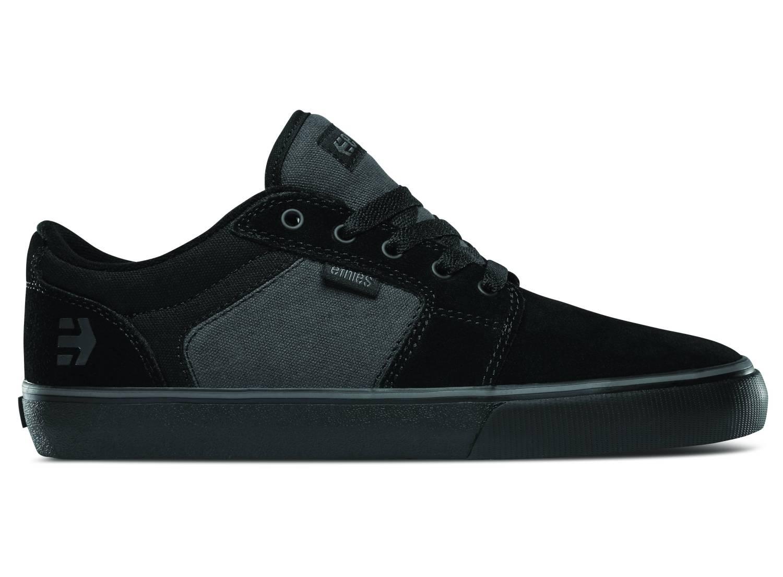 Etnies Barge LS schwarz grau schwarz black grey black Sneaker Skateschuhe Herren
