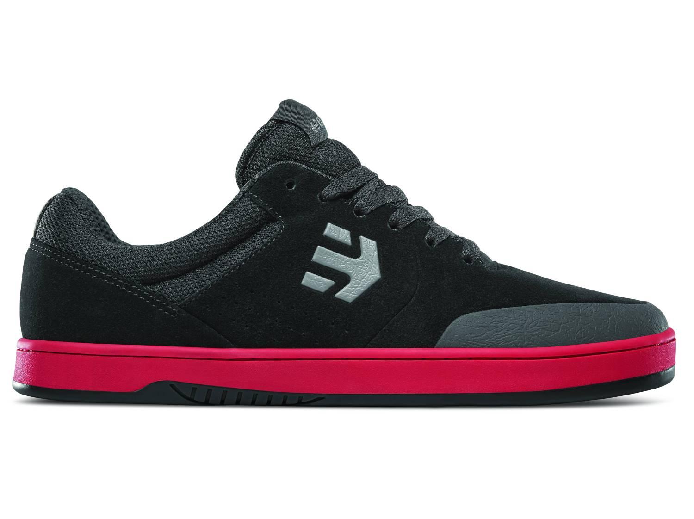 Etnies Marana schwarz rot schwarz black red Low Sneaker Skateschuhe Herren