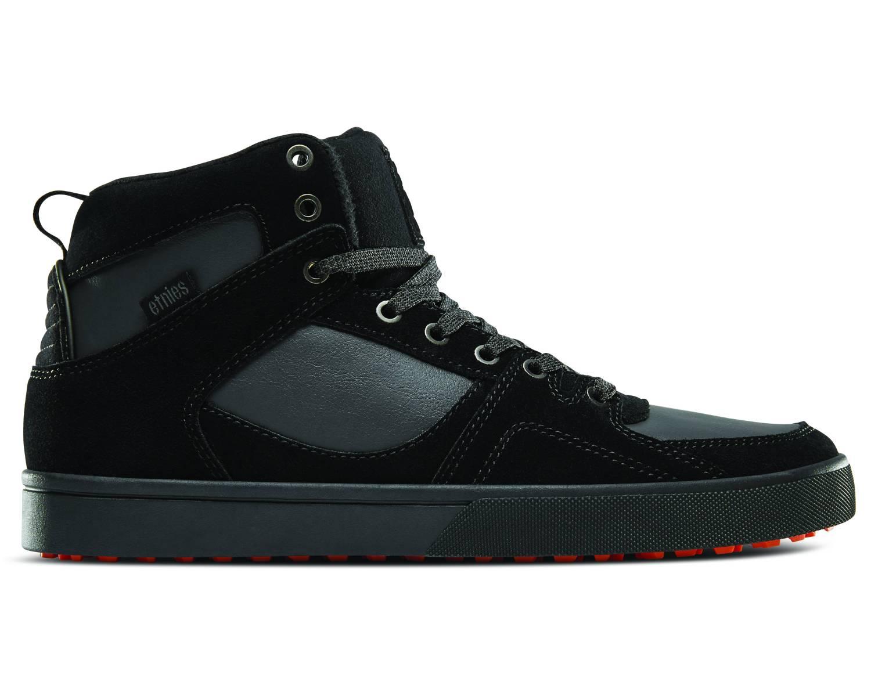 Etnies Harrison HTW schwarz dunkelgrau black dark grey gum Hi Sneaker Skateschuh