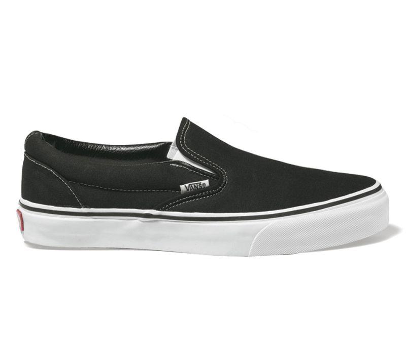 VANS Classic Slip-On Schwarz Schuhe Sneaker EYEBLK Gr.: 39 48