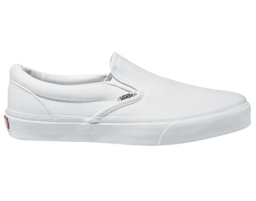 Vans Classic Slip-On Weiß Slipper Canvas Sneaker Schuhe EYEW00