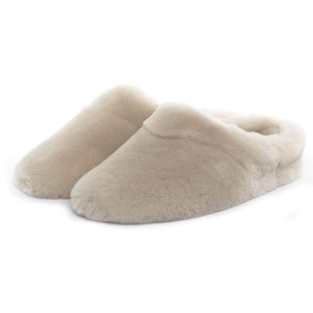 Giesswein Gerolding creme beige perle Schuhe Pantoffel Hausschuhe Damen