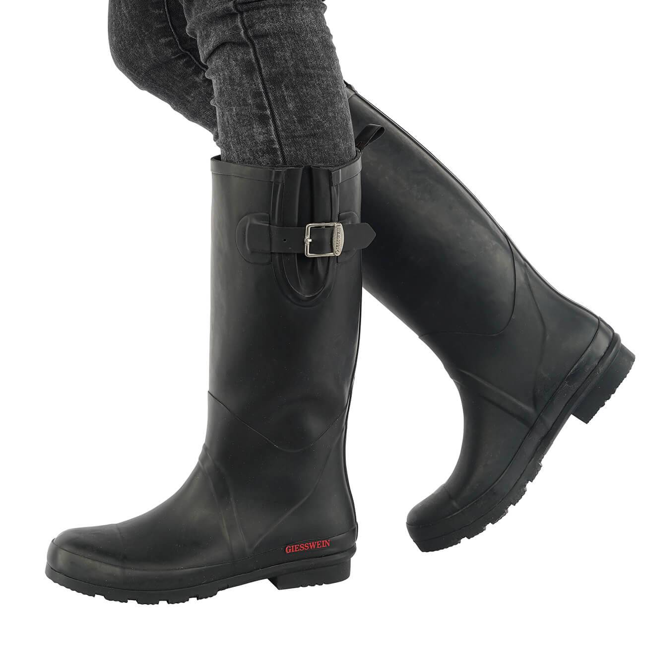 Giesswein Zwiedorf schwarz schwarz Schuhe Gummistiefel Damen