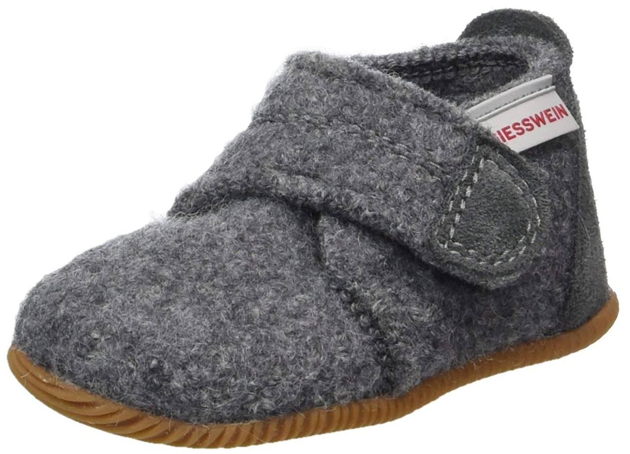 Giesswein Oberstaufen grau schiefer Schuhe Lauflernschuhe feste Sohle Damen