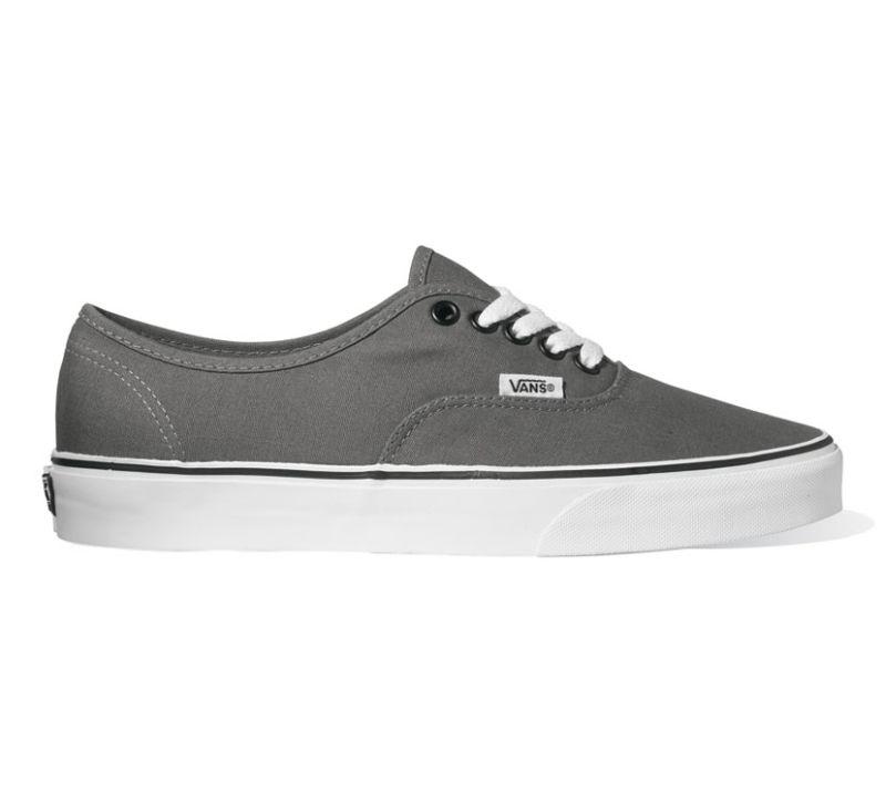 VANS Authentic Grau  Schwarz Schuhe Sneaker JRAPBQ Gr.: 37 48