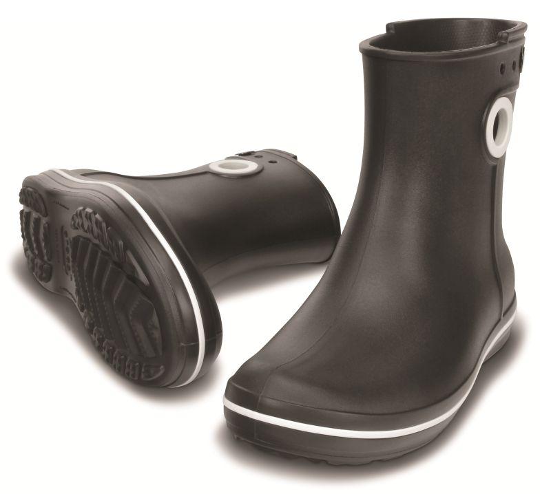 Crocs Jaunt Shorty Boot Schwarz Damen Gummistiefel Schuhe JSB1