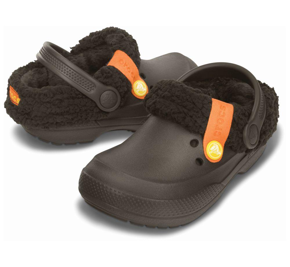 Crocs Blitzen II Clog Kids Braun Kinder Clogs Schlappen Schuhe K2BZ1