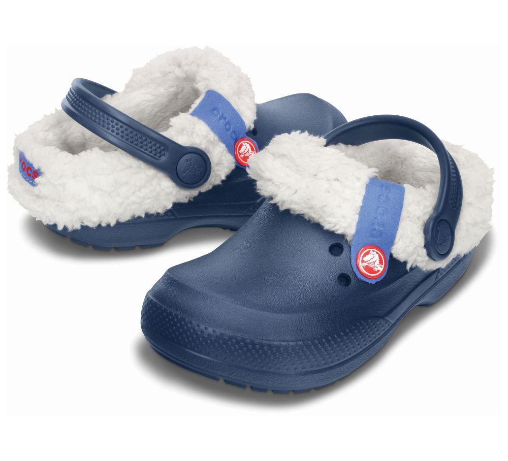 Crocs Blitzen II Clog Kids Blau Kinder Clogs Schlappen Schuhe K2BZ2