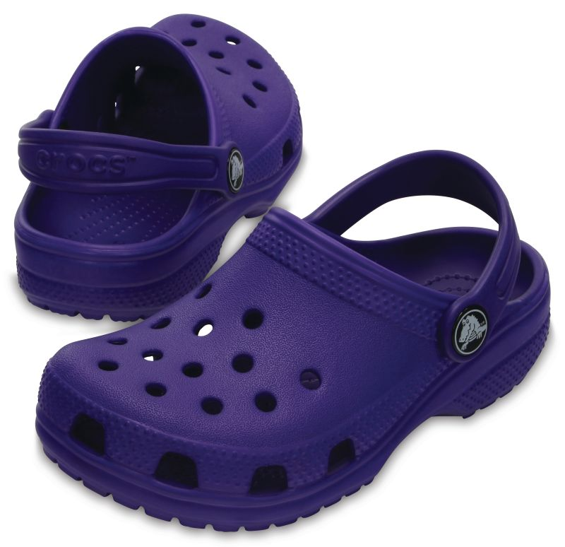 Crocs Classic Kids Lila Violett Ultraviolet Kinder Clogs Sandalen Schuhe KCA32