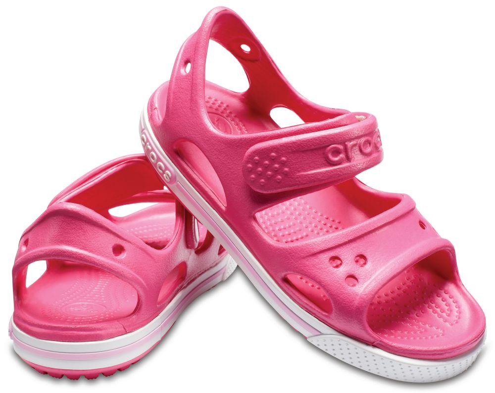 CROCS Crocband II Sandal Kids Kinder Sandalen Pink Paradise Pink Carnation