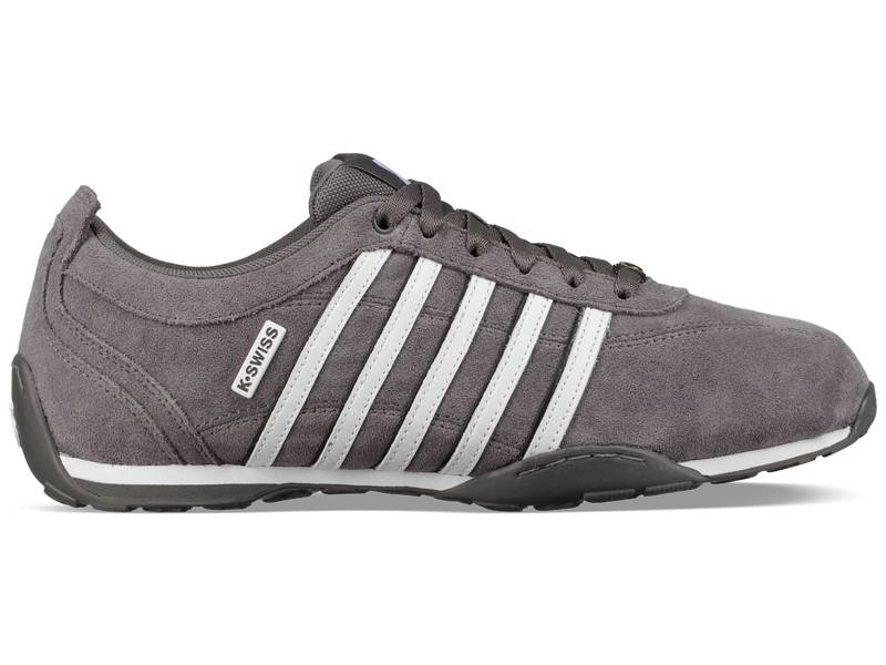 K-Swiss Arvee 1.5 grau weiß Charcoal White White Schuhe Low-Cut Sneaker Herren