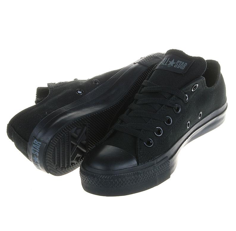 Converse Chucks All Star OX Mono Schwarz M5039 Schuhe Gr.: 35 48
