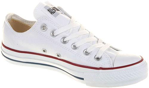 Details zu Converse - Chucks - All Star OX Low Weiß M7652 - Schuhe NEU - Größen: 35 - 48