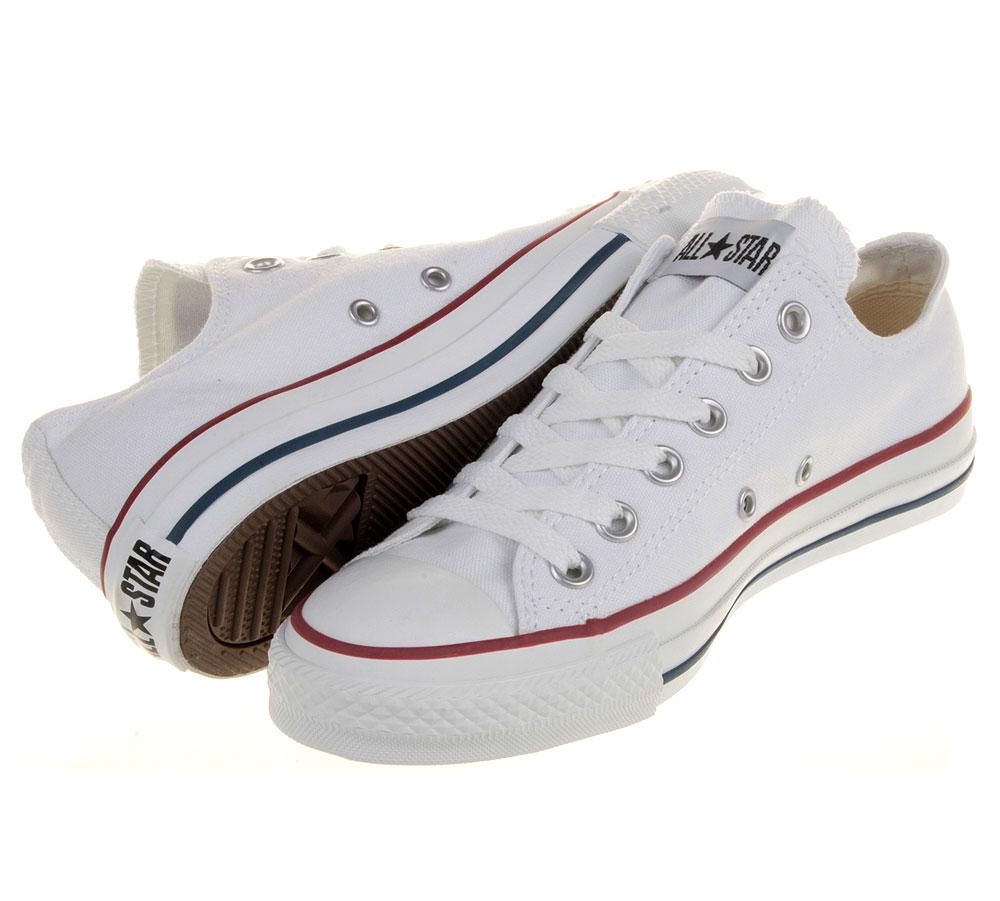 Converse Chucks All Star OX Low Weiß M7652 Schuhe Größen: 35 48