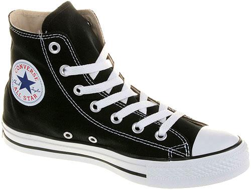 Converse Chucks All Star Hi Schwarz M9160 Schuhe Größen: 35 48