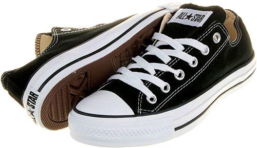 on sale bcaac bd495 Details zu Converse - Chucks - All Star OX Low Schwarz M9166 - Schuhe NEU -  Größen: 35 - 48