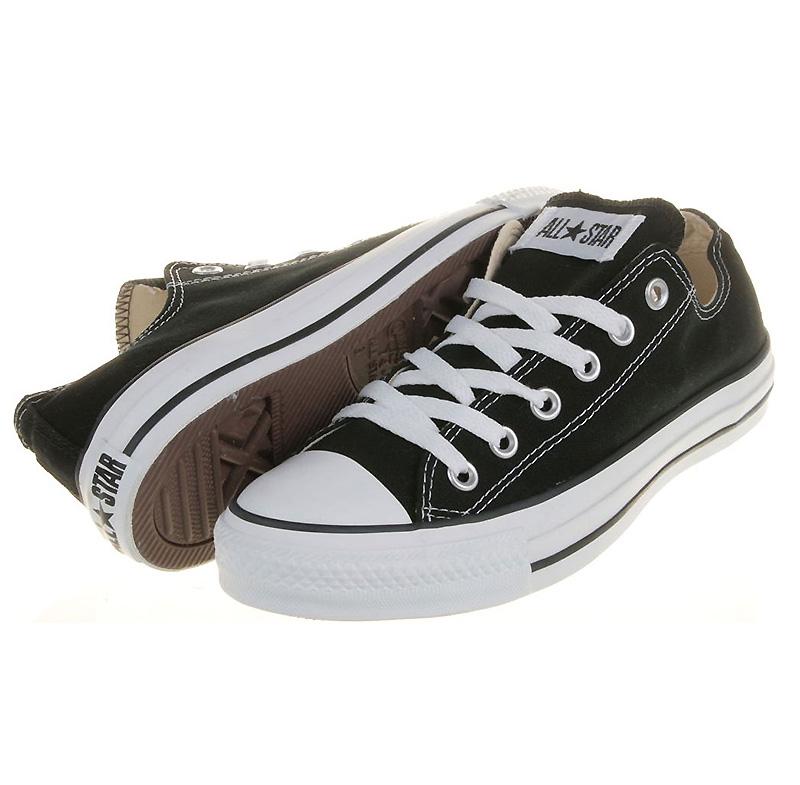 Converse Chucks All Star OX Low Schwarz M9166 Schuhe Größen: 35 48