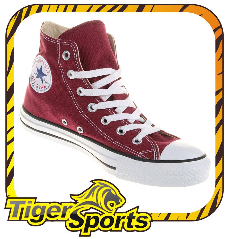 Converse Chucks All Star Hi Maroon Rot M9613 Schuhe Gr.: 35 48