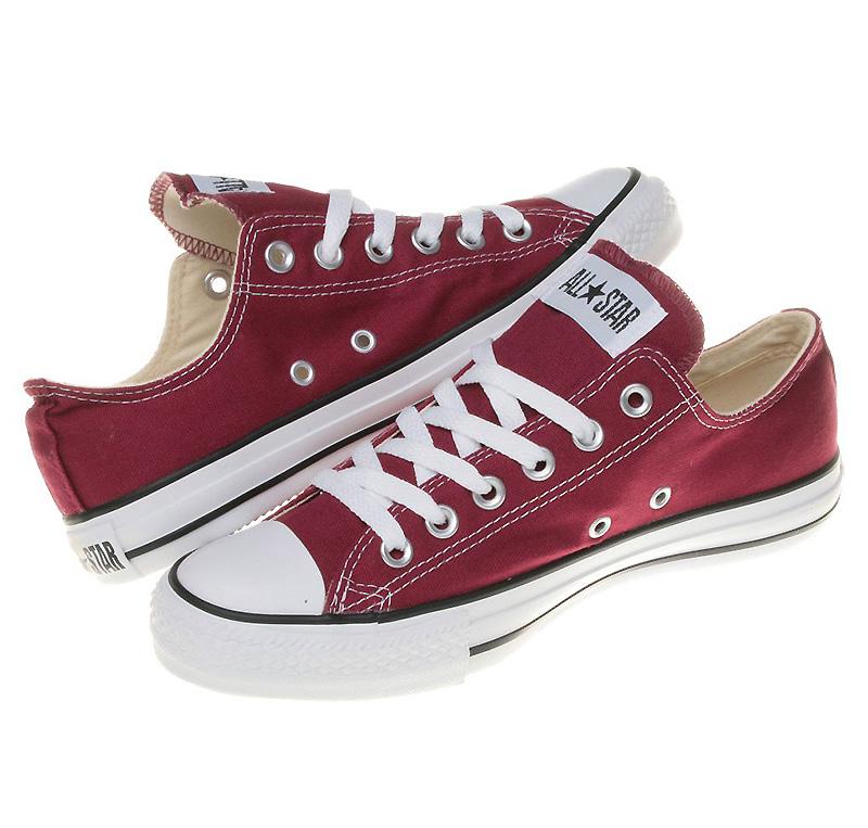 Converse Chucks All Star OX Low Maroon Rot M9691 Schuhe Gr. 35 48