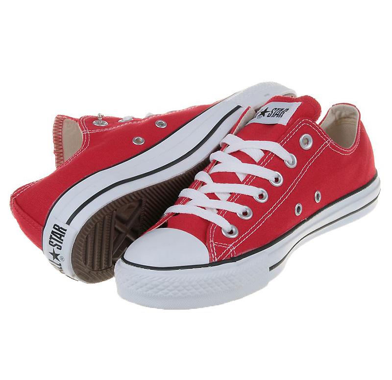 Converse Chucks All Star OX Low Rot M9696 Schuhe Größen: 35 48