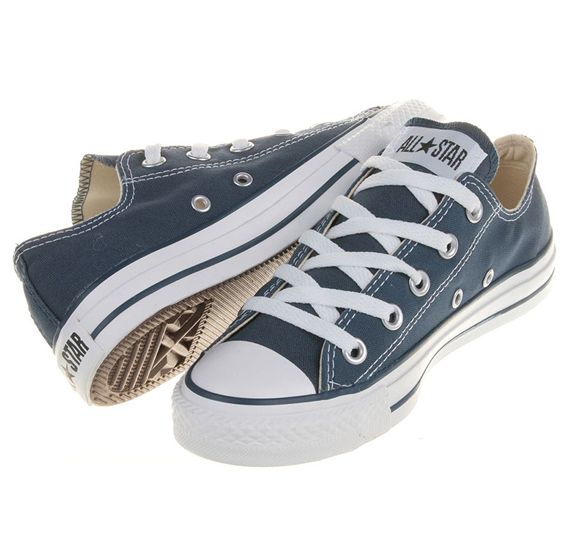 Converse Chucks All Star OX Navy Blau M9697 Schuhe Größen: 35 48