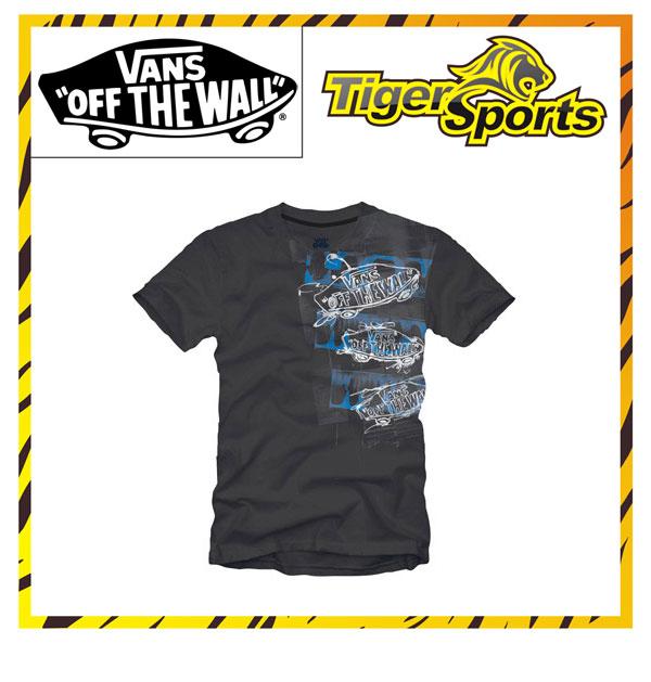 VANS T-Shirt Schwarz / Spill O7JBLK Größen: XS-XXL