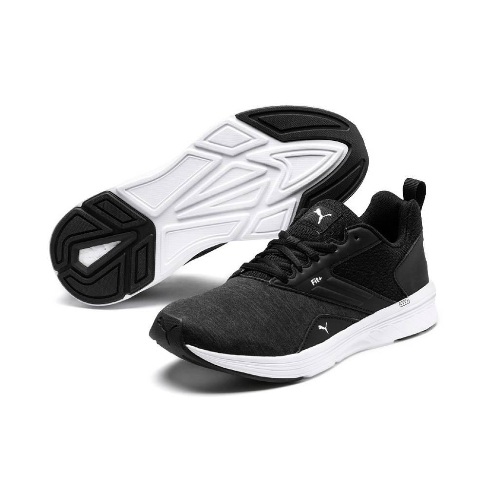 Puma NRGY Comet schwarz weiß Black White Schuhe Low-Cut Sneaker Herren Damen
