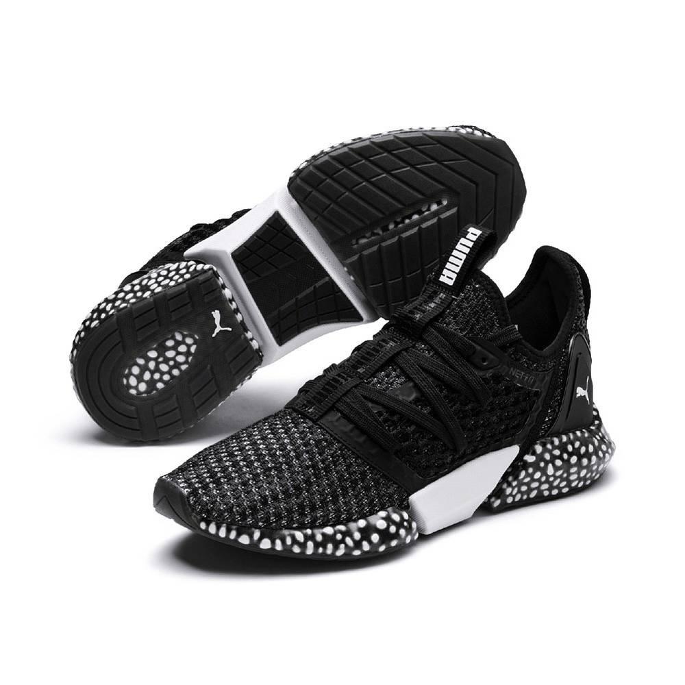 Puma Hybrid Rocket NETFIT schwarz Black Iron Gate Schuhe Low-Cut Sneaker Herren