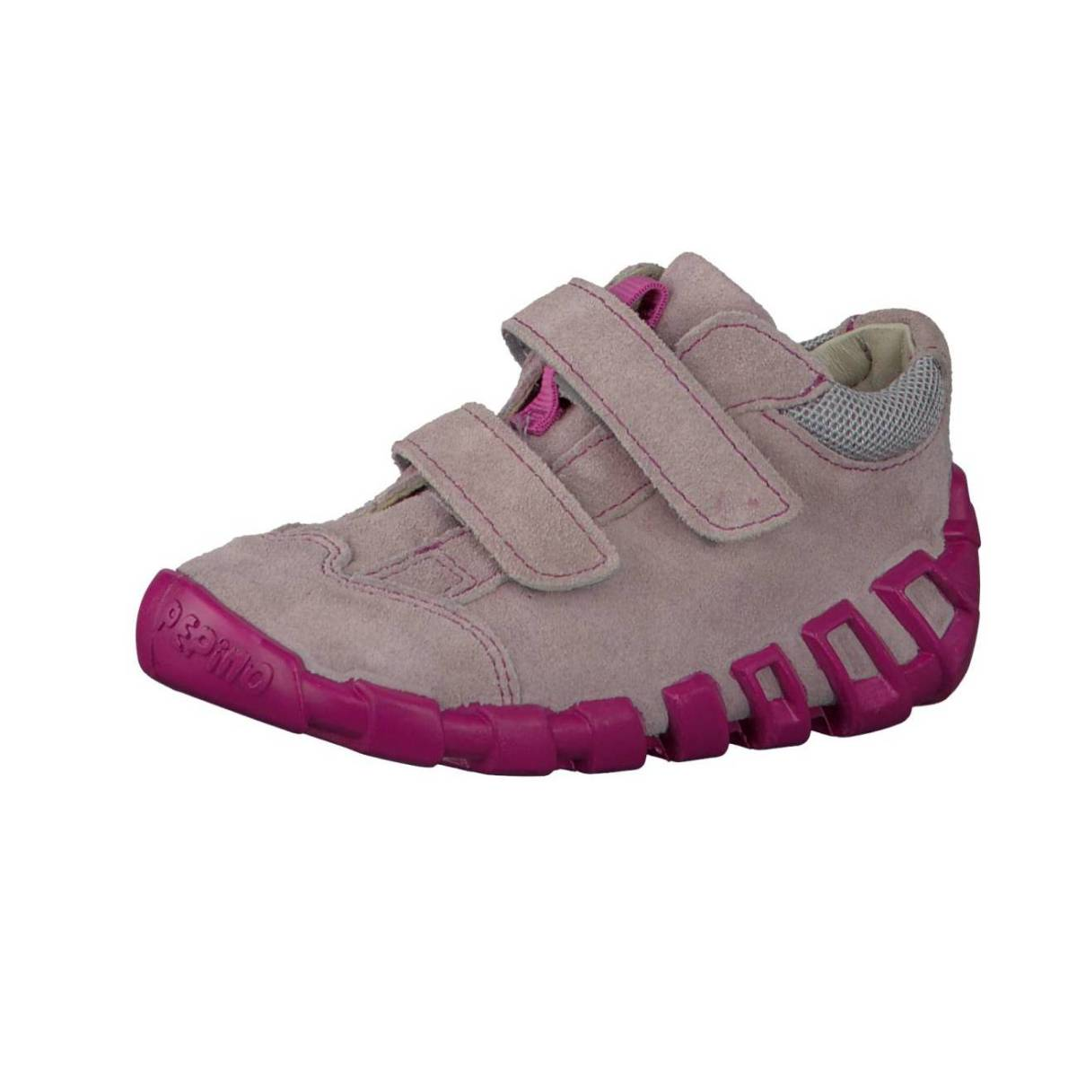 Ricosta Pepino Asky grau lila graphit Lauflernschuhe Sneaker Jungen Mädchen