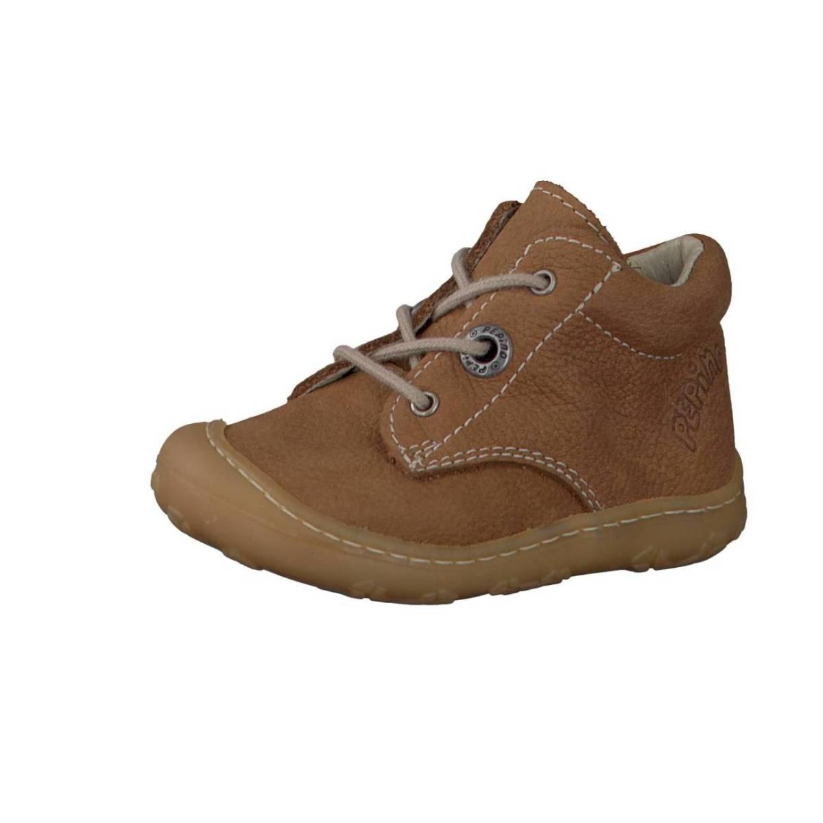 Ricosta Pepino Cory braun curry Lauflernschuhe Stiefelchen Boots Jungen Mädchen
