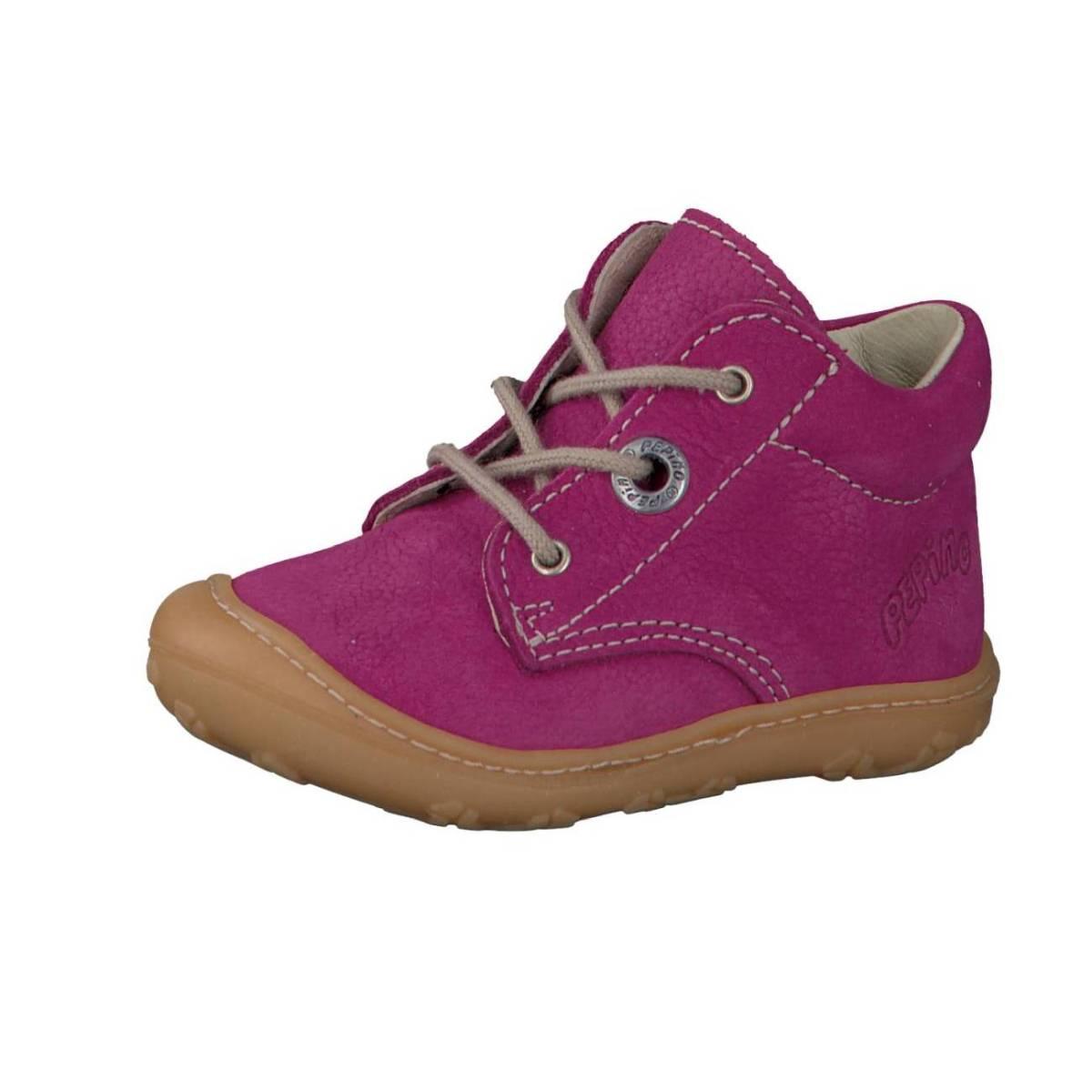 Ricosta Pepino Cory lila pop Lauflernschuhe Stiefelchen Boots Jungen Mädchen