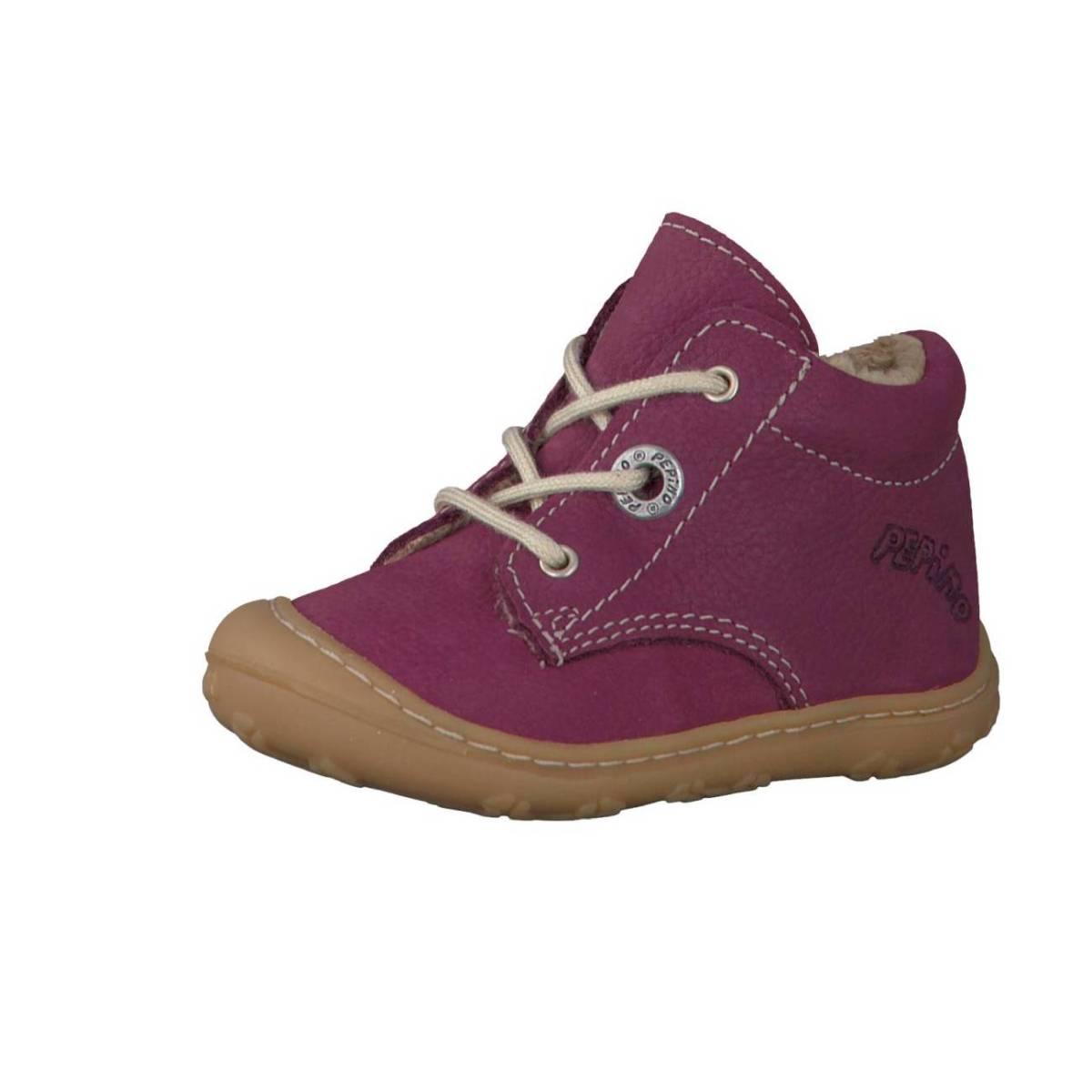 Ricosta Pepino Corany lila fuchsia Lauflernschuhe Stiefelchen Jungen Mädchen