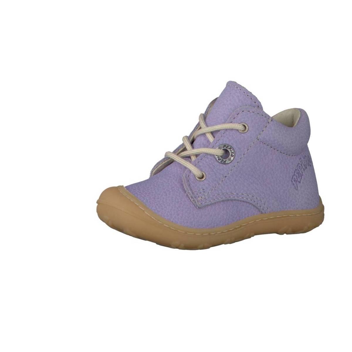 Ricosta Pepino Cory flieder lilac Lauflernschuhe Stiefelchen Jungen Mädchen
