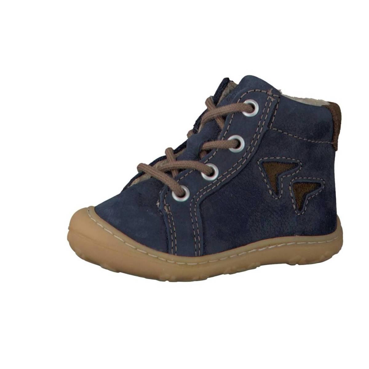 Ricosta Pepino Georgie dunkelblau see Lauflernschuhe Stiefelchen Jungen Mädchen