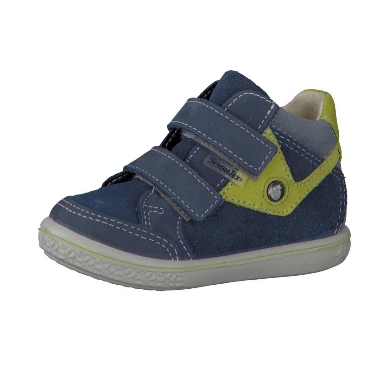Ricosta Pepino Kimo blau grün reef lime Schuhe Jungen Mädchen Kinder