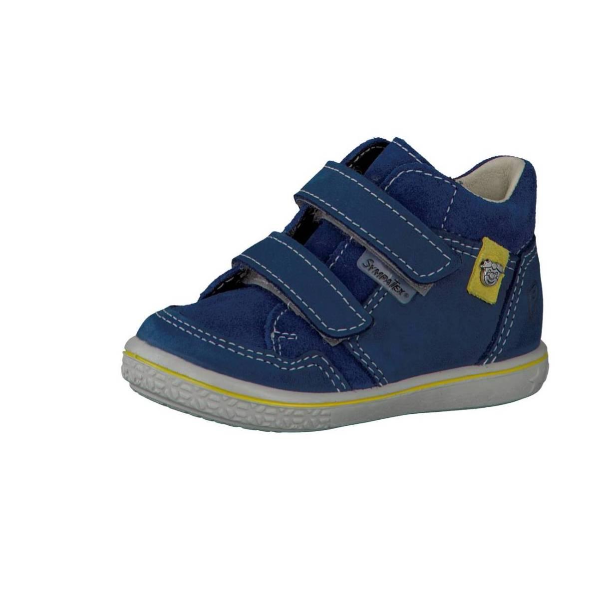 Ricosta Pepino Juri blau tinte Lauflernschuhe Stiefelchen Boots Jungen Mädchen